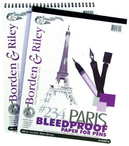 Paris Paper 19x24 40 Sht Pad 40 Sht Pad