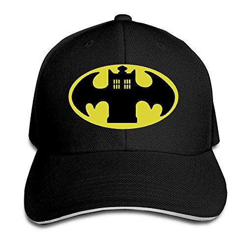 [FOODE Police Batman Logo Peaked Baseball Cap Snapback Hats] (Cheap Police Hats)