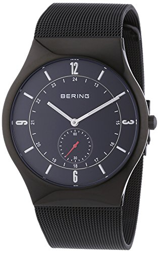 BERING Time 11940-222 Men's Classic Collection Watch with Mesh Band and scratch resistant sapphire crystal. Designed in Denmark.