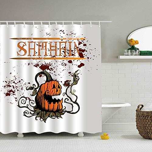 (Nicholas Dunlop Quick Dry Samhain Celtic Halloween Shower Curtain, Bath/Shower Organizer)