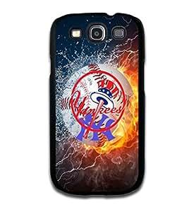 Tomhousomick? Custom Design Forever MLB New York Yankees Team Case Cover for Samsung Galaxy S3