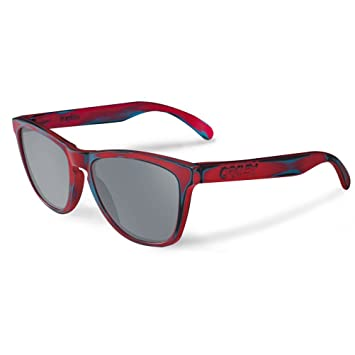 oakley red sunglasses kyf5  Oakley Skate Deck Frogskins Men's Limited Editions Lifestyle Sunglasses/ Eyewear