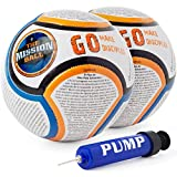 The Mission Ball (Spanish Soccer Ball - Biblical Gospel Sharing Tool Using The World's Most Popular Sport to Explain Christ - Perfect for Mission Trips, Shoeboxes, VBS, and Gifts (2 Pack)