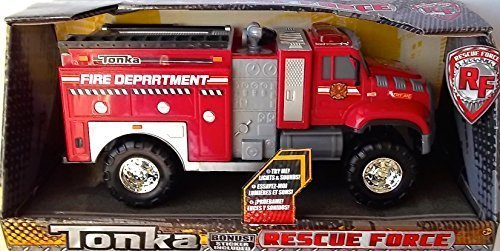 Tonka Rescue Force Fire Department Truck