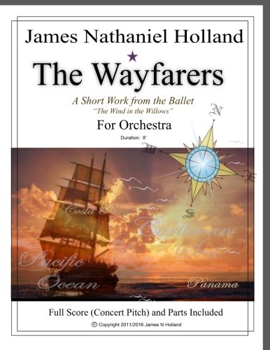 The Wayfarers: A Short Piece for Orchestra:  Full Score and - Band Wayfarer