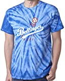 "The Silo TIE DIE BLUE Bellinger Los Angeles ""LOGO"" T-Shirt"