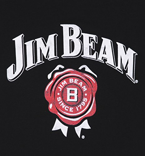 Womens-Black-Jim-Beam-Logo-T-Shirt