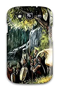 Charles C Lee Design High Quality Warrior Cover Case With Excellent Style For Galaxy S3