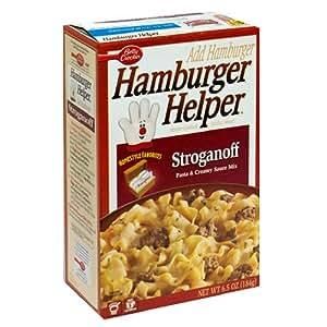Hamburger Helper, Creamy Stroganoff, 5.6-Ounce Boxes (Pack of 6)