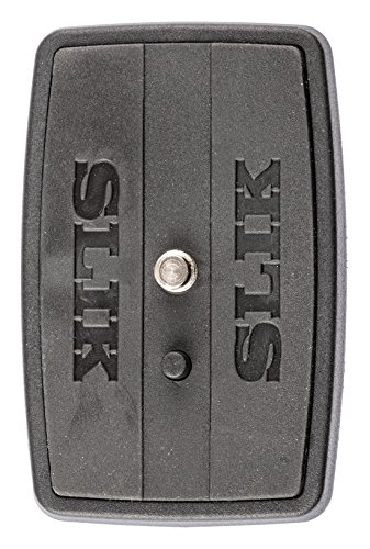 SLIK Quick Release Plate for the F630 & F740 Tripods, Black (Mount Black Quick Release)
