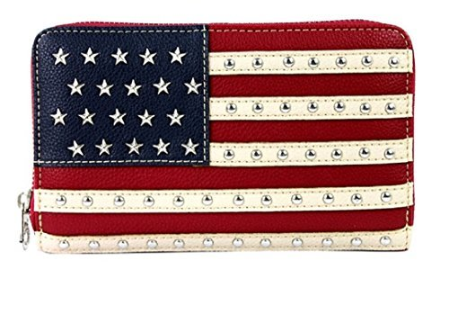 - Montana West American Pride Stars & Stripes Collection Wallet