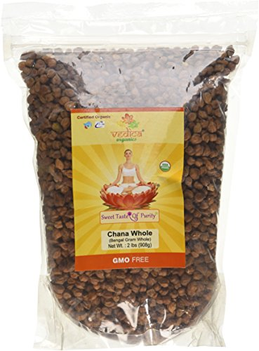 Organic Chana Whole (Bengal Gram Whole) (2 (Dry Organic Honey)