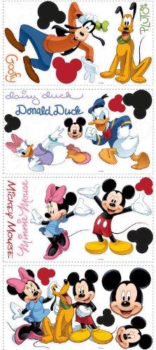 Disney Mickey Friends Decal Cutouts