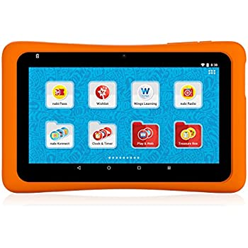 Hot Wheels Tablet. Powered by nabi
