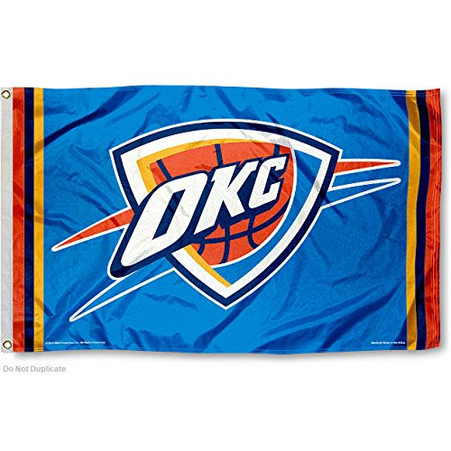 NBA Oklahoma City Thunder Flag 3x5 Banner