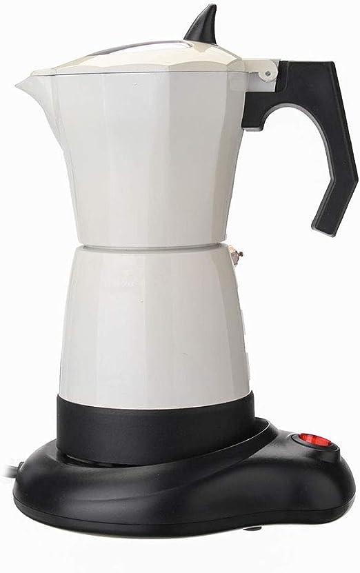 Mebeauty-hm Cafetera casera 480W 6 Tazas de té eléctrica Cafetera ...