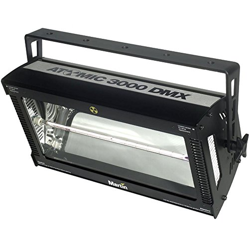 Martin Atomic 3000 DMX 3000W Long-Life Xenon Strobe, US Version 100-120V,50-60Hz by Martin Professional