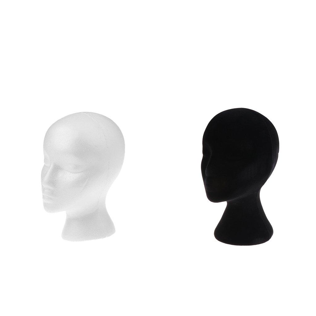 perfk Teste Manichini Mannequin Espositori Cappelli Modello Head Utilizza Professionale