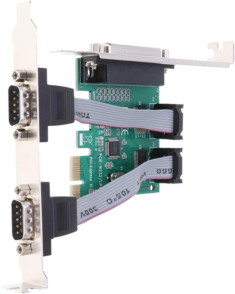non-brand PCI-E Convertidor De Adaptador De Puerto Hembra De Tarjeta Serie 9PIN De 2 Puertos para Windows XP: Amazon.es: Electrónica