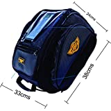 Guardian Gears Shark Universal 28L Tank Bag with Rain Cover for All Motorcycles with Fuel Cap in Center