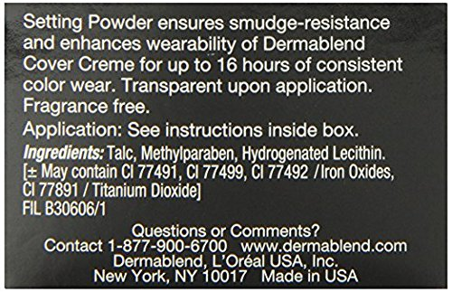 Dermablend Loose Setting Powder, Original, 1 Oz. by Dermablend (Image #6)