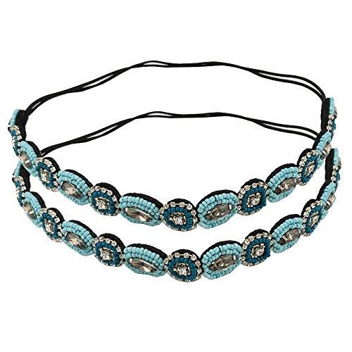 yueton-Pack-of-2-Handmade-Crystal-Rhinestone-Beads-Elastic-Headband-Hair-Band-Women-Hair-Accessories