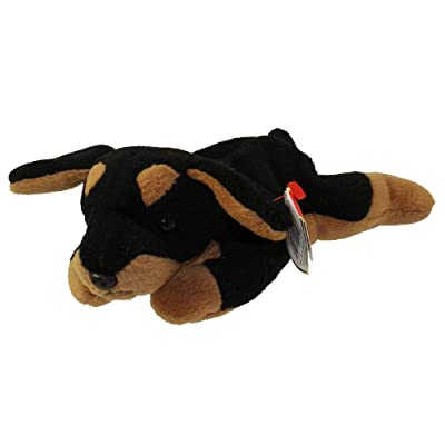 Ty Beanie Babies - Doby the Doberman: Toys & Games
