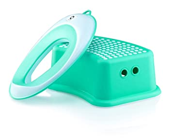 Quze Potty Seat + Matching Step Stool | Kids Toilet Training Ring for Boys or Girls  sc 1 st  Amazon.com & Amazon.com : Quze Potty Seat + Matching Step Stool | Kids Toilet ... islam-shia.org