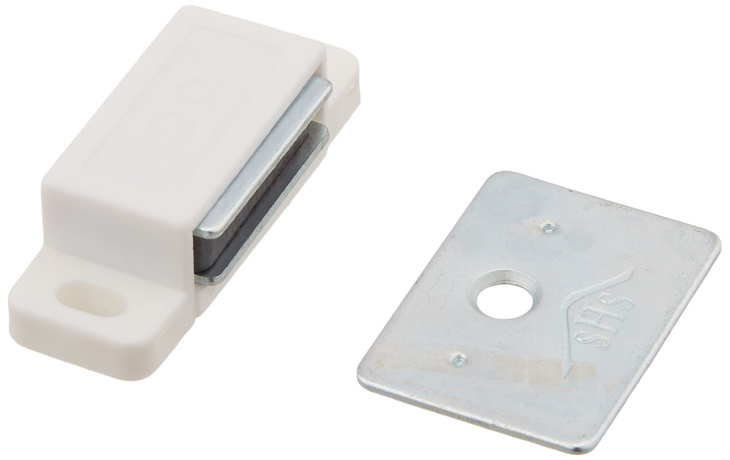 Amazon.com: Shutter/cabinet Magnets - White - 13 Lb. Pull Force ...