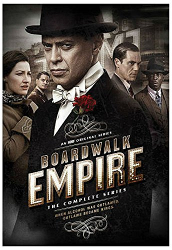 Boardwalk Empire The Complete Series DVDs seasons 1,2,3,4,5 Box Set New Sealed
