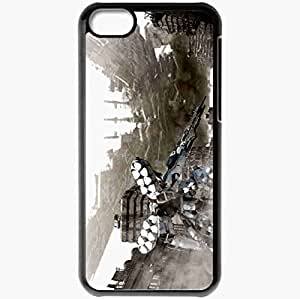 Personalized iPhone 5C Cell phone Case/Cover Skin Armored Core Black