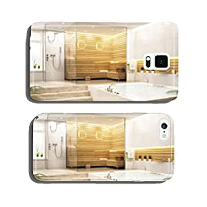 Sauna in the big house cell phone cover case Samsung S6