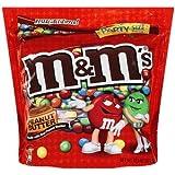 M & M Peanut Butter 38oz Bag (1 Kilo)