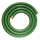 Apache 98128015 1-1/2'' x 25' PVC Style G (Green) Suction Hose with Aluminum Pin Lug Fittings