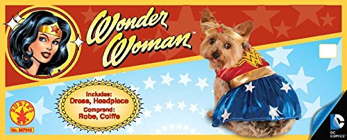 Rubie's DC Comics Pet Costume, Large, Wonder Woman by Rubie's (Image #4)