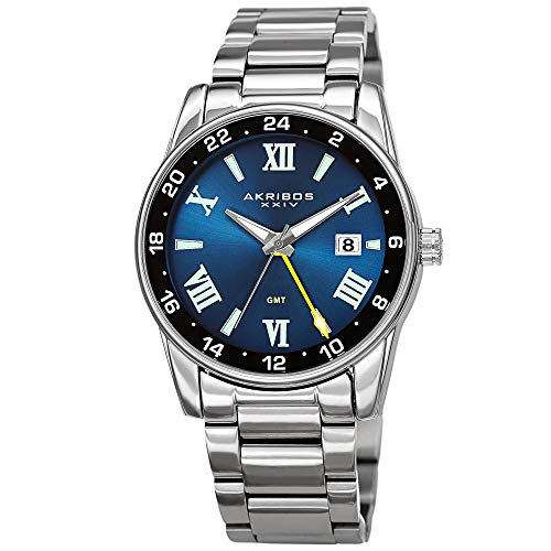 Akribos XXIV Stainless Steel Men
