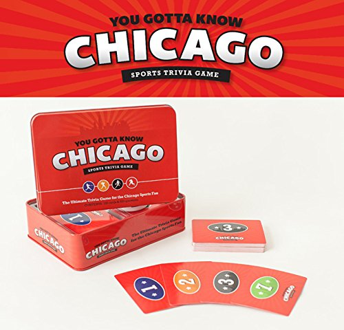 [You Gotta Know Chicago - Sports Trivia Game] (Chicago Cubs Paper)