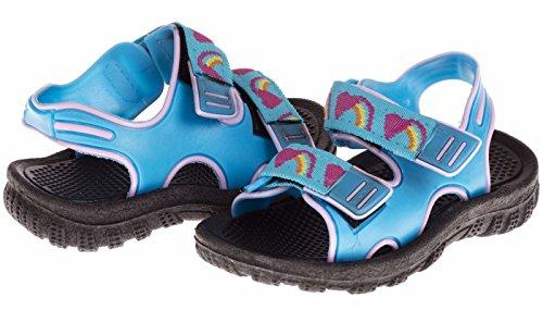 Metal Baby Girl Sandals - 8