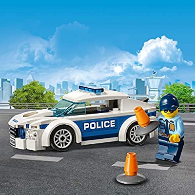 LEGO City Police Patrol Toy Car, Cop Minifigure Accessories, Police Toys for Kids: Toys & Games