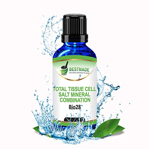 Total Tissue Cell Salt Combination Bio28 Lactose Free, 30mL, Helps Your Body Absorb & Use Nutrients, Increase Energy, Improves Sleep Patterns, Restores Health & Vitality - Hylands Tissue Salts