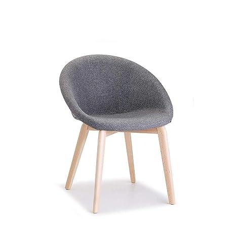 Amazon.com: Scab Design Giulia Pop - Silla (madera de haya ...