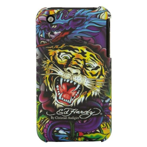 - Ed Hardy Tattoo Faceplate Tiger iPhone 3G