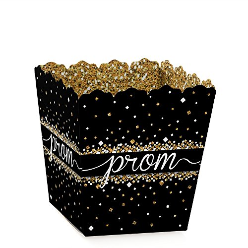 Prom - Party Mini Favor Boxes - Prom Night Treat Candy Boxes - Set of 12 -