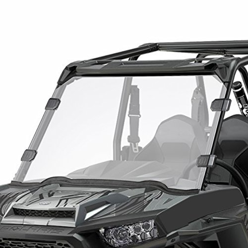 (Orion Motor Tech UTV Full Windshield, Compatible with Polaris Razor, 15-18 RZR 900, 15-18 RZR 4 900, 15-18 RZR S 900, 15-18 RZR XC 900, 14-18 RZR 1000, 16-18 RZR S 1000, 16-18 RZR XP Turbo, 14-18 RZR)
