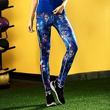 JIALELE Pantalon Yoga Deportes Pantalones De Yoga Deportes ...