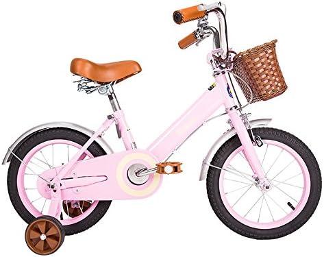 Bicicletas YANFEI Niños Carrito de bebé 12/14/16/18 Pulgadas Mountain Bike Vintage Moonlight Blanco, Rosa Regalo para Niños (Color : Pink, Tamaño : 16 Inch): Amazon.es: Deportes y aire libre