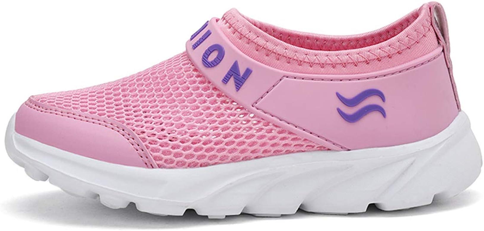 Zapatillas Deportivas de Correr para Niño Niña Malla Transpirable Ligeras Verano Zapatos Running Sneakers al Aire Libre Sandalias: Amazon.es: Zapatos y complementos