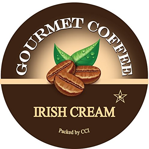 Percipient Sips Coffee, Irish Cream, 24 Single Serve Cups Compatible With Keurig K-cup Brewers