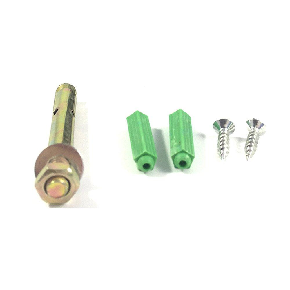 Fermaporta Magnetico in Acciaio Inossidabile 94 mm Parete o Pavimento Set di 4