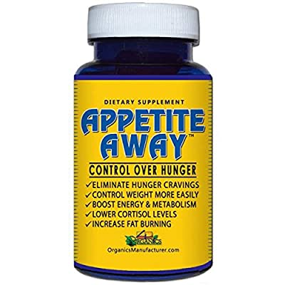 APPETITE AWAY Appetite Suppressant Weight Loss Supplement - 60 Caps - 2 Pack